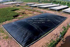 Bạt HDPE Biogas giá tốt