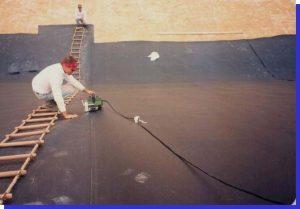 biện pháp thi công màng  HDPE