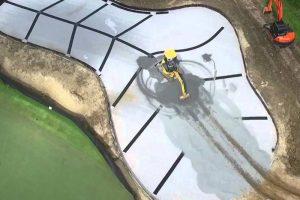 Biện pháp thi công thoát nước sân Golf – Megaflo
