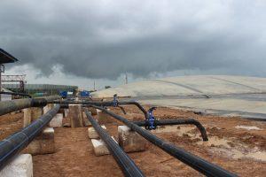Các nguyên nhân hầm Biogas HDPE không lên gas