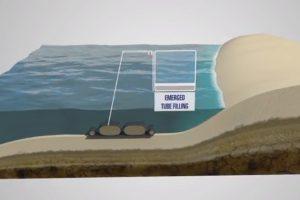 Giải pháp Bãi tắm nhân tạo bằng ống Geotube