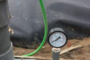 Hệ thống thu khí hầm Biogas HDPE