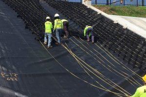 Biện pháp thi công Geocell trên HDPE